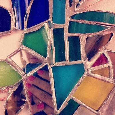 Glass Art Photograph - Stained Glass By Ashley Ross by Ashley Ross