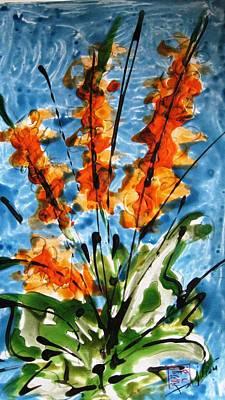 Thomas Kinkade Royalty Free Images - Miyoko Flowers Royalty-Free Image by Baljit Chadha