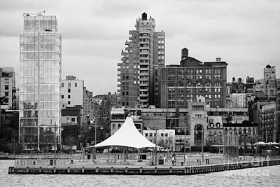165 Charles Street Pier 45 Hudson River Park New York City  Art Print