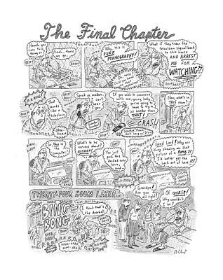 2001 Drawing - New Yorker December 17th, 2001 by Roz Chast