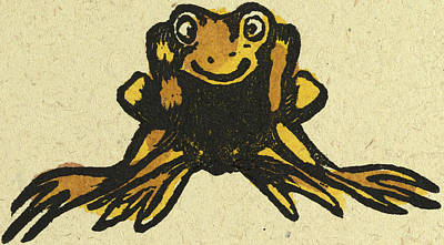 Amphibians Drawing - Illustration Of English Tales Folk Tales And Ballads by English School