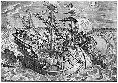16th Century Sailors Art Print