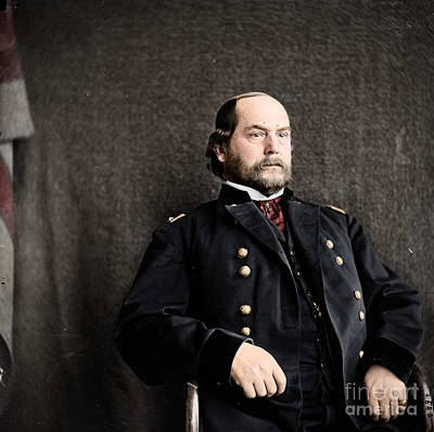 The General Lee Photograph - 16th Quarter Master General And Brevet Major General by Celestial Images