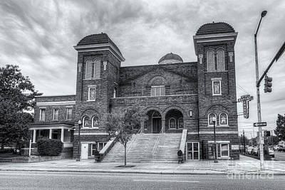 Photograph - 16th Street Baptist Church Iv by Clarence Holmes