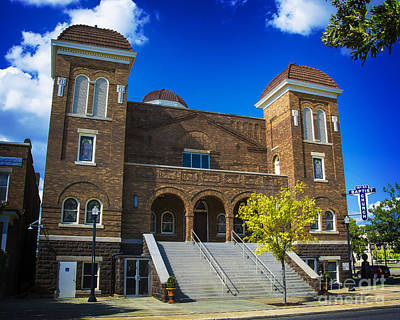 Photograph - 16th Street Baptist Church by Ken Johnson