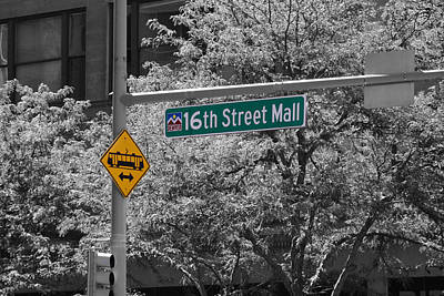 Photograph - 16th Street Mall by Audreen Gieger