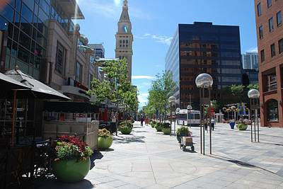 Photograph - 16th Street Mall - Denver by Dany Lison