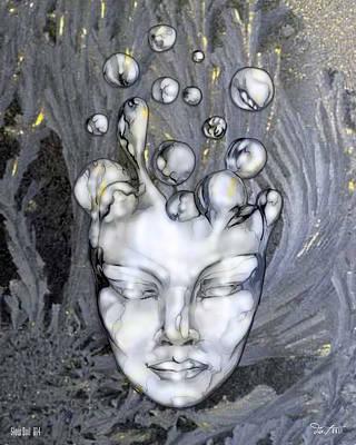 16x20 Slow Boil 014 Art Print by Dia T