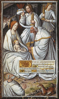 Literature Painting - Adoration Of Magi by Granger