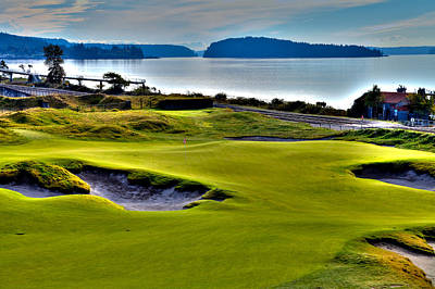 Photograph - #17 At Chambers Bay Golf Course - Location Of The 2015 U.s. Open Championship by David Patterson
