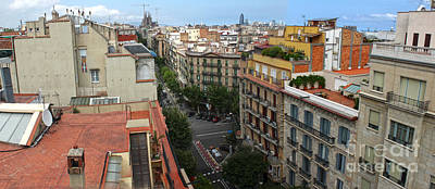Photograph - Barcelona Spain  by Gregory Dyer