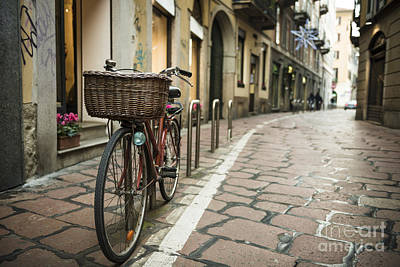 Photograph - Bicycle by Mats Silvan