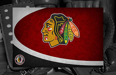 Chicago Blackhawks Art Print
