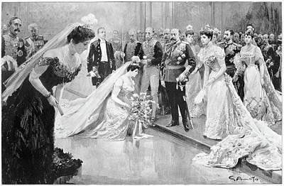 Buckingham Palace Drawing - Edward Vii (1841-1910) by Granger