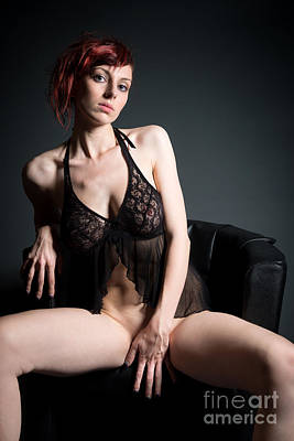 Dominant Women Photograph - Erotic Nude by Jochen Schoenfeld