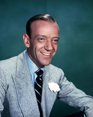 Fred Astaire Art Print by Silver Screen