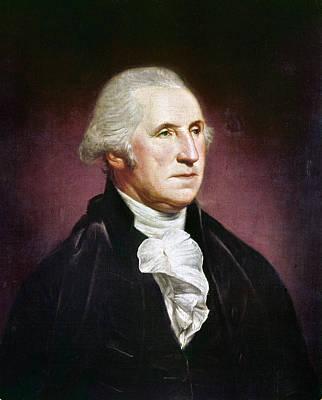 Photograph - George Washington by Granger