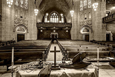 Photograph - Hennepin Avenue Methodist Church by Amanda Stadther