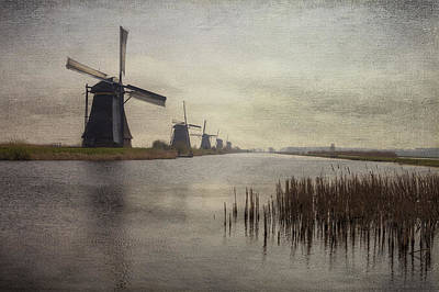Kinderdijk Art Print by Joana Kruse