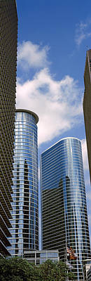 Wedge Photograph - Low Angle View Of Buildings In A City by Panoramic Images