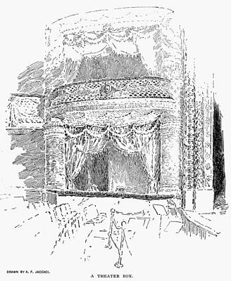 Stanford Drawing - Madison Square Garden by Granger