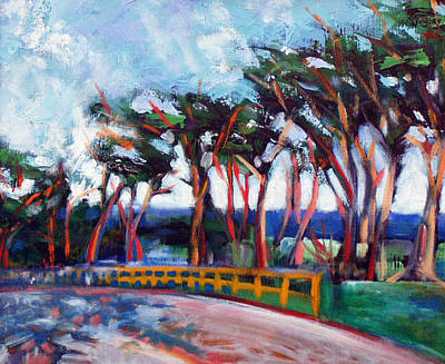 Painting - Seventeen Mile Drive by Walter Fahmy