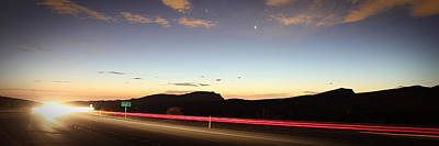 17 Miles To Vegas Art Print