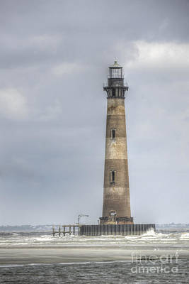 Photograph - Morris Island Lighthouse by Dale Powell