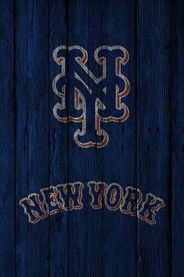 New York Mets Stadium Photograph - New York Mets by Joe Hamilton