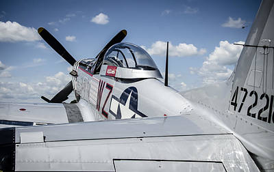 Photograph - P-51 Mustang by Eric Miller