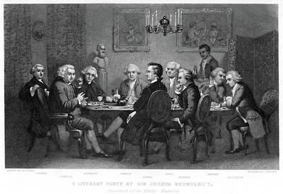 Samuel Johnson (1709-1784) Art Print