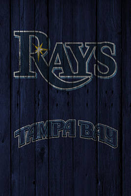 Photograph - Tampa Bay Rays by Joe Hamilton