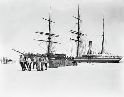Terra Photograph - Terra Nova Antarctic Exploration by Scott Polar Research Institute