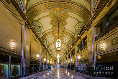 Michigan Theatre Photograph - The Fisher Building by Twenty Two North Photography