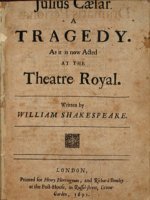 It Is As It Was Photograph - Title Page by British Library