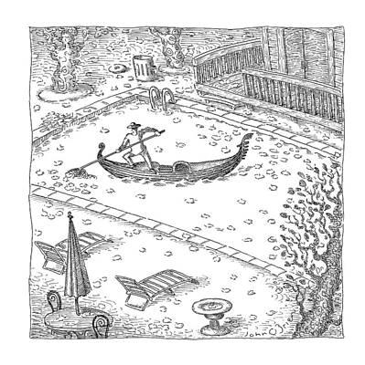New Yorker November 20th, 2006 Art Print
