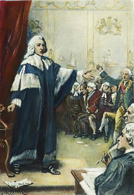 Chatham Painting - William Pitt (1708-1778) by Granger