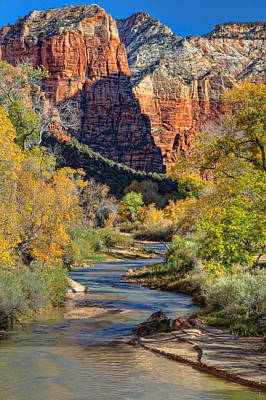 Photograph - Zion National Park Utah by Utah Images