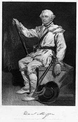 Vintage Camera Painting - 1700s 1770s General Daniel Morgan by Vintage Images
