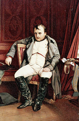 1700s 1800s Napoleon Bonaparte Seated Art Print