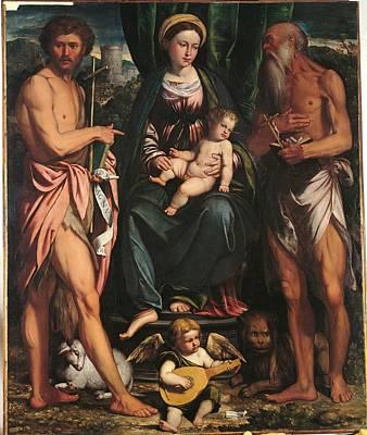 Religious Jesus On Cross Photograph - Italy, Lombardy, Milan, Brera Art by Everett