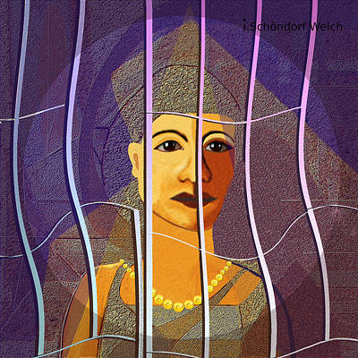 Prison Painting - 173 - Outlook by Irmgard Schoendorf Welch