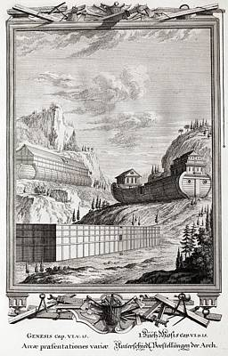 Bible Photograph - 1731 Designs Of Noah's Ark by Paul D Stewart