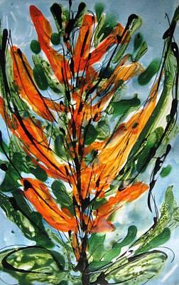 Basketball Patents - Miyoko Flowers by Baljit Chadha