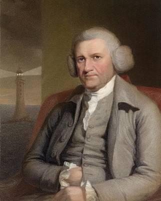 Portraits Photograph - 1759 John Smeaton Engineer Lighthouse by Paul D Stewart