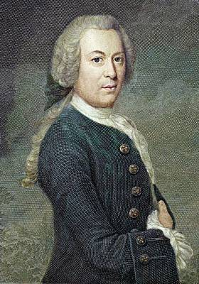 Painter Photograph - 1759 Rosel Von Rosenhof Colour Portrait by Paul D Stewart