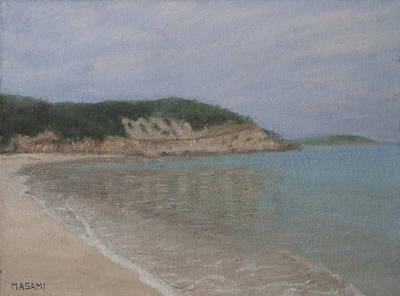 Painting - Brighton Beach by Masami Iida