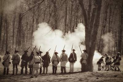 Photograph - 1781 Guilford Court House Battle by Benanne Stiens