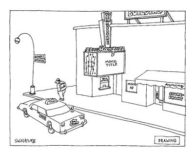 Cartoon Drawing - New Yorker March 6th, 2000 by Jack Ziegler