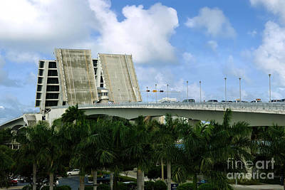 17th Street Causeway Drawbridge Fort Lauderdale Florida Art Print by Amy Cicconi